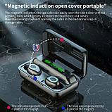Бездротові навушники R15 сенсорні Power Bank HD Stereo Bluetooth навушники, фото 9