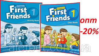 Английский язык / First Friends 2nd edition / Class+Activity Book. Учебник+Тетрадь (комплект), 1 / Oxford
