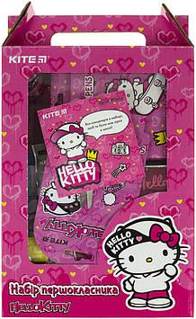 """Набір першокласника """"Kite"""" Hello Kitty №K21-S04(1)(11)"""