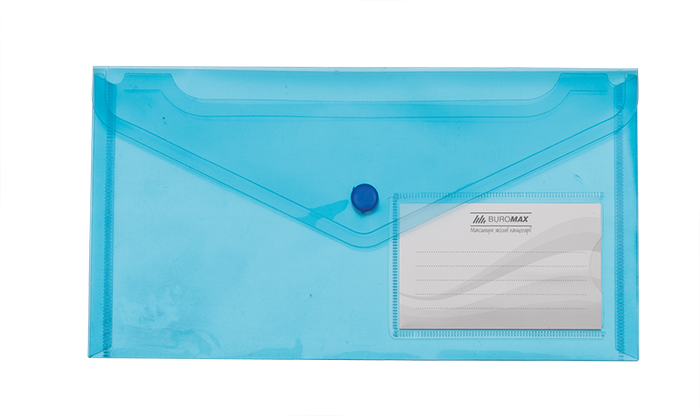 Папка-конверт А4 Optima, 2 відділення, 180 мкм, , асорті (31315-99) набір 12штук Optima (31315-99)