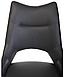 Стілець поворотний VetroMebel R-50 графіт штучна шкіра, фото 9