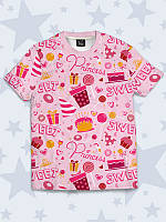 Креативная футболка Сладкая принцесса, фото 1