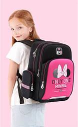 Рюкзак школьный подростковый девочке Микки Маус средних классов