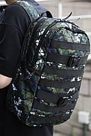 Рюкзак Чоловічий | Жіночий Міський для ноутбука Intruder Fazan зелений, фото 1
