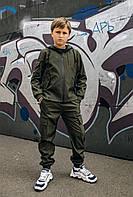 Костюм для мальчиков хаки демисезонный Intruder Softshell Easy. Куртка + штаны осенний   весенний   летний, фото 1