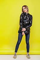 """Анорак жіночий """"Unique"""" куртка куртка спортивна дощовик весняна   осіння   річна від Intruder чорна, фото 1"""
