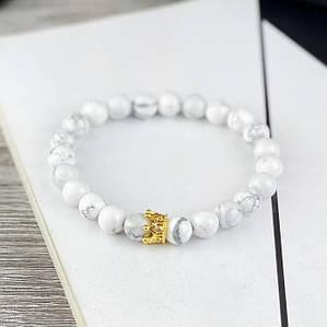 Стильный браслет с Короной 2B Rich Bracelet Белый браслет