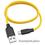 Кабель hoco Х21 Plus Micro Usb 1m Белый, фото 3