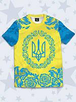 Детская футболка Украинский тризубец, фото 1