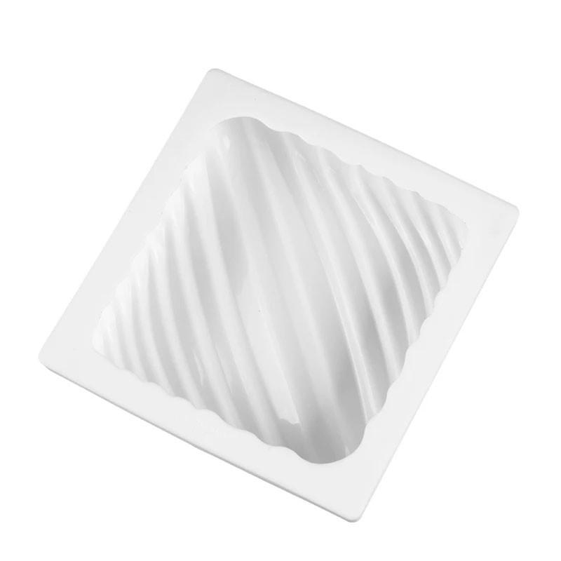 Форма силиконовая для евродесертов Квадрат Полосы