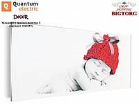 """Керамико-углеродная нагревательная панель """"Квантум Электрик"""" - 60х30 Младенец в красной шапочке 2 (Артикул 1063257), фото 1"""