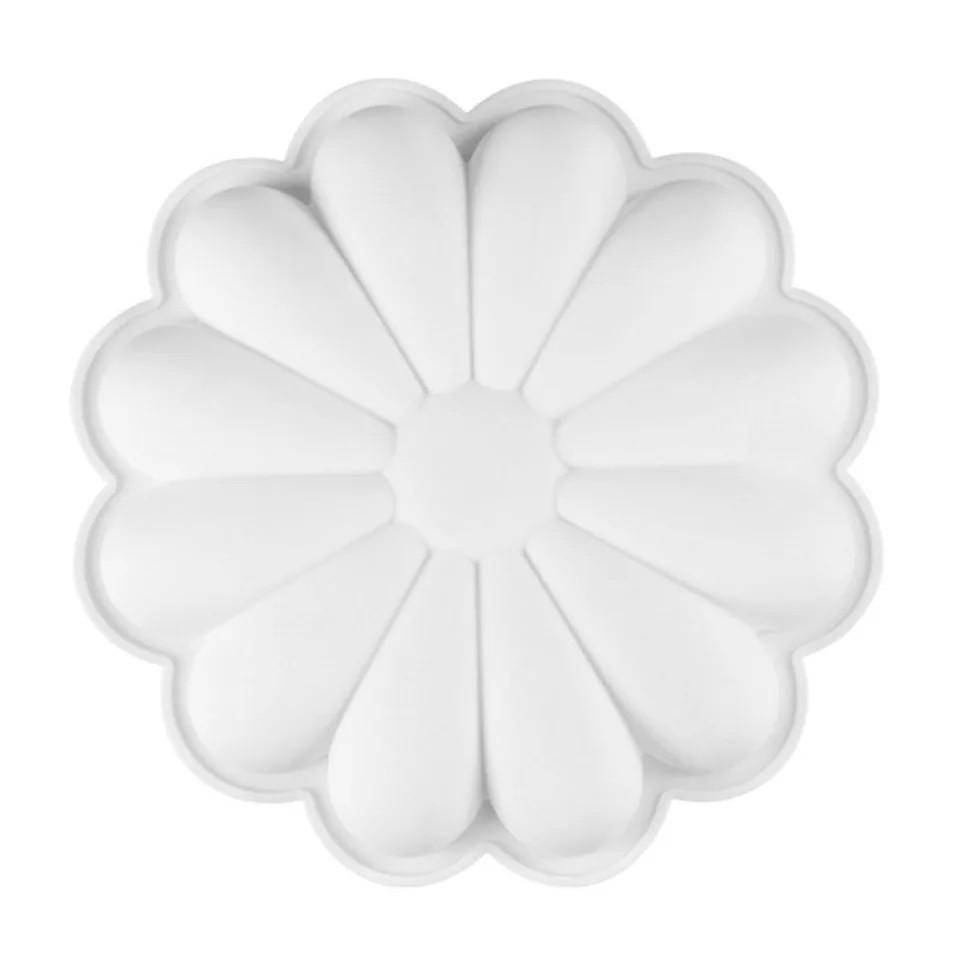 Форма силиконовая для евродесертов Ромашка