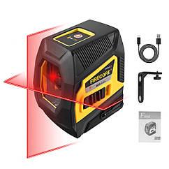 Красний луч-->30м🟥 Лазерний рівень Firecore F113-XR 🟥АКУМУЛЯТОР🟥НАХИЛ🟥ПРИЙМАЧ🟥КРОНШТЕЙН
