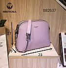 Сумочка жіноча стильна на плече штучна шкіра 23*17 см в різних кольорах Lusha, фото 3