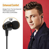 Дротові навушники Jellico X4A Чорні, фото 6