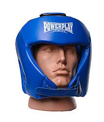 Боксерський шолом турнірний PowerPlay 3049 L Синій PP3049LBlue ES, КОД: 1138852