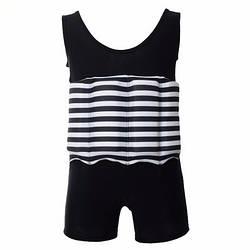 Купальник-поплавок для мальчиков Safe baby swim L Черный в полоску ES, КОД: 213117
