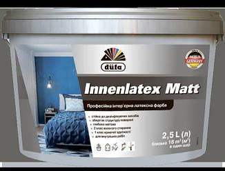Фарба професійна інтерєрна латексна Innenlatex Matt 2,5 л Білий 13721 ES, КОД: 2404459