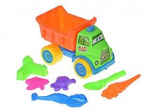 Набор для игры с песком Same Toy с машинкой 7 шт HY-1303WUt ES, КОД: 2433285