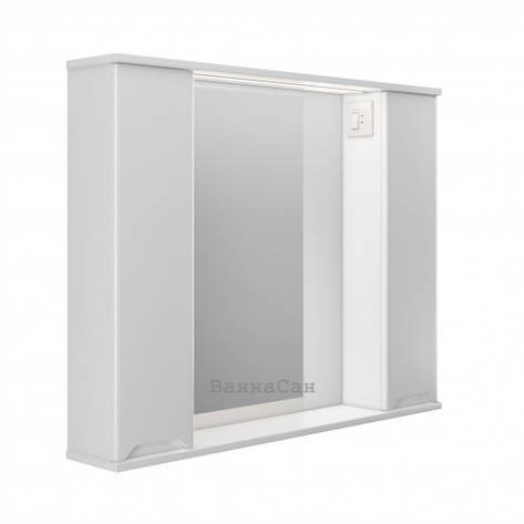 Зеркало в ванную комнату 100 см Респект Prime Prmc-100, фото 2
