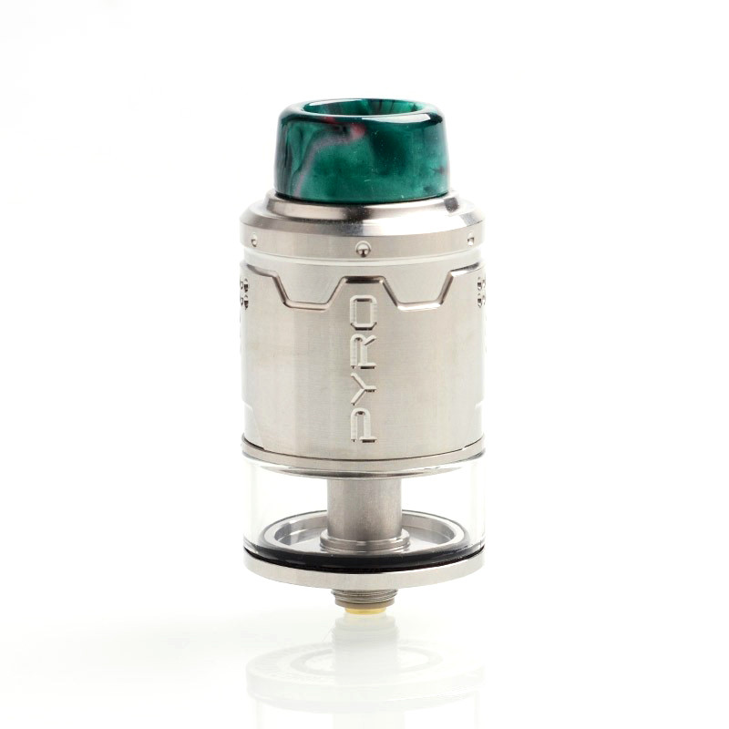 Атомайзер Vandy Vape Pyro V3 BF RDTA Silver