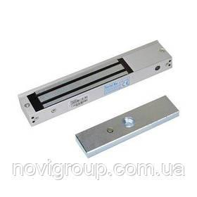 Електромагнітний замок MS-280LED + Куточок LS-280, до 280 кг, DC12V / 500mA, DC24V / 250mA. Розміри: 250х47х25