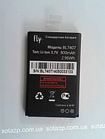 Аккумуляторная батарея original к мобильному телефону Fly DS103, DS106D  800mAh (original type BL7407)