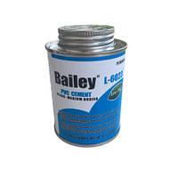 Bailey Клей для труб ПВХ Bailey L-6023 237 мл, фото 1