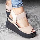 Жіночі сандалі Fashion Batista 3082 36 розмір 23 см Бежевий, фото 4