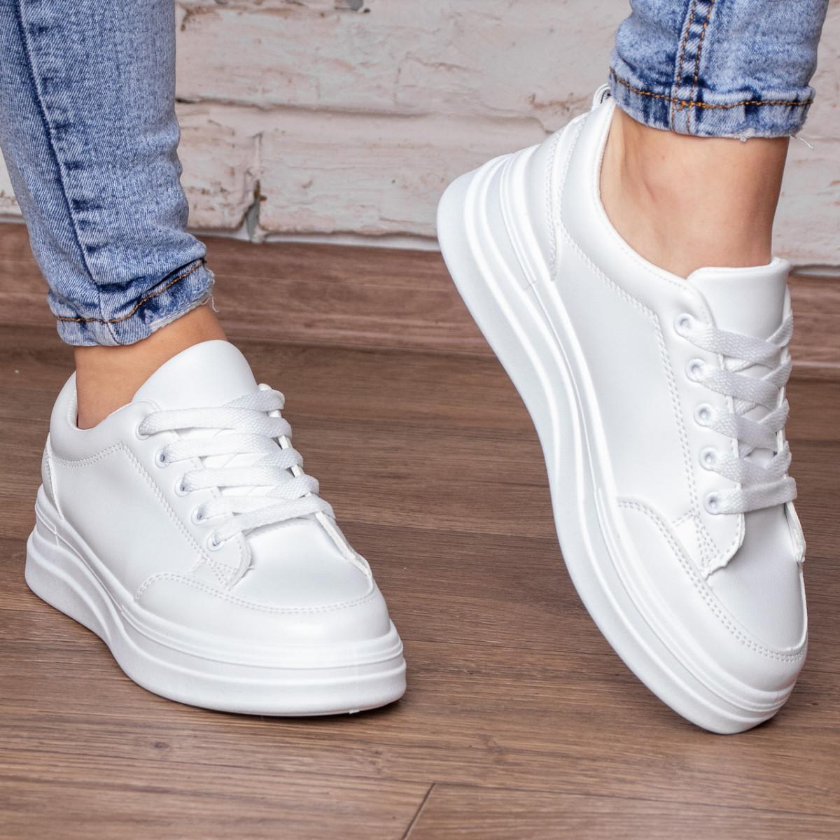 Кеди жіночі Fashion Adele 3074 36 розмір 23 см Білий
