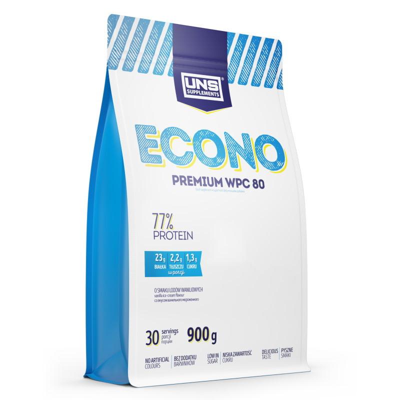 Протеин UNS Econo Premium, 900 грамм Молочный шоколад-кокос