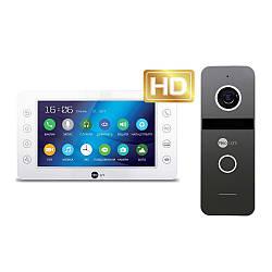 Комплект відеодомофона Neolight KAPPA+ HD / Solo FHD Graphite