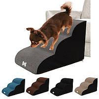 Драбинка для собак Premium , драбинки і сходинки для собак, м'які сходинки для собак, сходи, драбини, фото 3