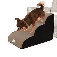 Драбинка для собак Premium , драбинки і сходинки для собак, м'які сходинки для собак, сходи, драбини, фото 6
