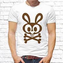 Чоловіча футболка Заєць SKL75-293446
