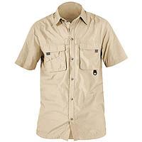 Рубашка с коротким рукавом NORFIN COOL(бежевая) 652106-XXXL