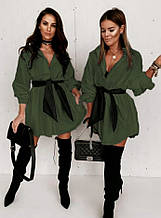 Жіноча сорочка сорочка зелена SKL11-290469