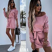 Женское спортивное платье розового цвета SKL11-290548