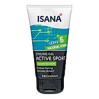 Гель для укладки волос ISANA Active Sport 6, 150 мл