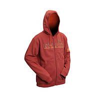 Куртка флисовая с капюшоном (терракот) 711002-M
