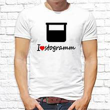 Чоловіча футболка Iove stogramm SKL75-292916