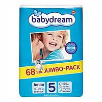 Подгузники Babydream 5, 68 шт