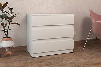 ALMA 5 / Комод колір білий, Комод в спальню, дитячу, вітальню, прихожу , Для зберігання речей