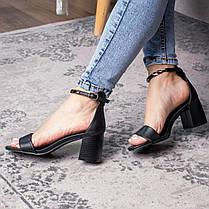 Жіночі босоніжки Fashion Aeris 3090 36 розмір, 23,5 см Чорний, фото 2