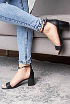 Жіночі босоніжки Fashion Aeris 3090 36 розмір, 23,5 см Чорний, фото 3