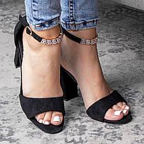 Женские босоножки Fashion Alabama 3108 38 размер 24,5 см Черный, фото 3