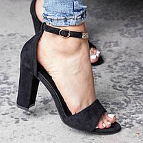 Женские босоножки Fashion Alabama 3108 38 размер 24,5 см Черный, фото 2