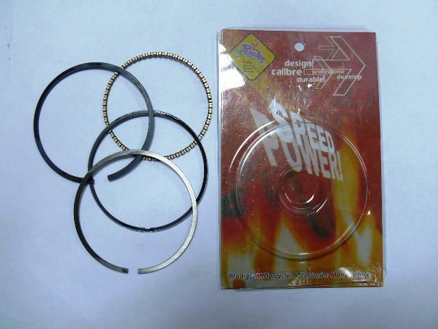 Кольца поршневые GY6-80 DELTA-70 0,5