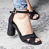Жіночі босоніжки Fashion Catchy 3104 36 розмір, 23,5 см Чорний, фото 2