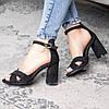 Жіночі босоніжки Fashion Catchy 3104 36 розмір, 23,5 см Чорний, фото 4